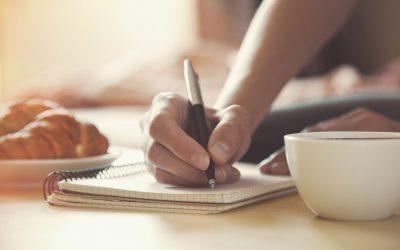 Writing As a Sacred Ritual