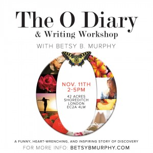 BETSY B  MURPHY » 11/11 Show & Writing Workshop in London